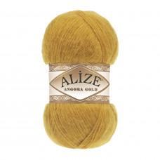 Farbe 02 gelb - Alize Angora Gold Uni 100g