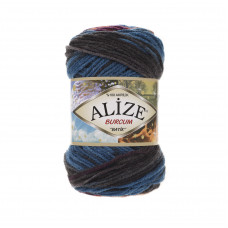 Farbe 4209 - ALIZE Burcum Batik 100g
