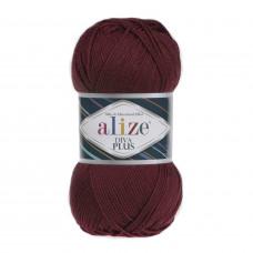 Farbe 57 bordo - ALIZE Diva Plus Microfaser 100g