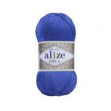 Farbe 132 royal - ALIZE Diva Uni Microfaser 100g
