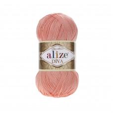 Farbe 145 powder - ALIZE Diva Uni Microfaser 100g