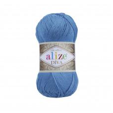 Farbe 245 türkis - ALIZE Diva Uni Microfaser 100g