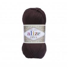 Farbe 26 braun - ALIZE Diva Uni Microfaser 100g