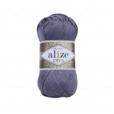 Farbe 348 smoky - ALIZE Diva Uni Microfaser 100g