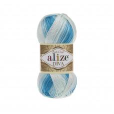 Farbe 2130 - ALIZE Diva Batik 100g