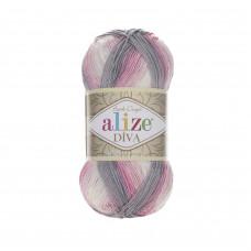 Farbe 3245 - ALIZE Diva Batik 100g