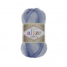 Farbe 3282 - ALIZE Diva Batik 100g