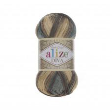 Farbe 3307 - ALIZE Diva Batik 100g