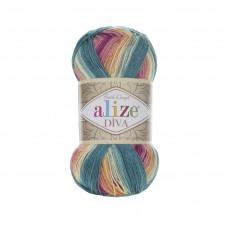 Farbe 4572 - ALIZE Diva Batik 100g