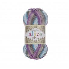 Farbe 5553 - ALIZE Diva Batik 100g