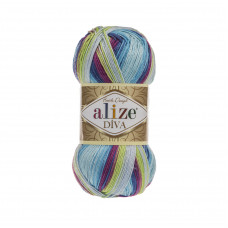 Farbe 6790 - ALIZE Diva Batik 100g