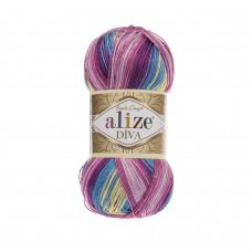 Farbe 6794 - ALIZE Diva Batik 100g