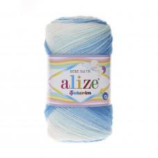 Farbe 2130 - ALIZE Sekerim Baby Batik 100g