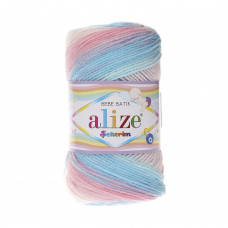Farbe 2604 - ALIZE Sekerim Baby Batik 100g
