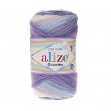 Farbe 3483 - ALIZE Sekerim Baby Batik 100g