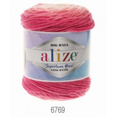 Farbe 6769 - ALIZE Superlana Maxi Long Batik 250g