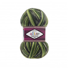 Farbe 2696 - Alize Superwash100 Sockenwolle 100g