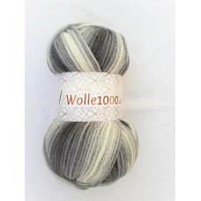 !NEU! Wolle1000 - Extra 200g - Farbe 01 grautöne