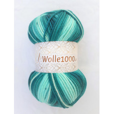 !NEU! Wolle1000 - Big 200g - Farbe 36 petroltöne