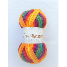 !NEU! Wolle1000 - Extra 200g - Farbe 37 bunt