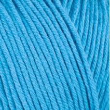 Farbe 52923 türkis - Mercan Uni Microfaserwolle 100g