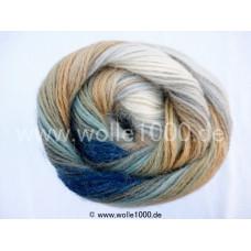 556-18 blau-beigetöne - Papatya Angora Batik 100g