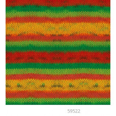 Farbe 59522 - Mercan Batik Microfaserwolle 100g