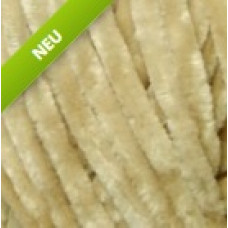 Farbe 90017 dkl.beige - Himalaya Velvet 100g - Chenille Garn