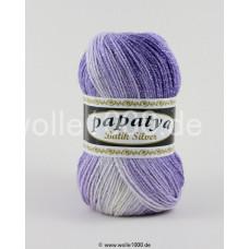 555-08 - Papatya Batik Silver - lilatöne 100g