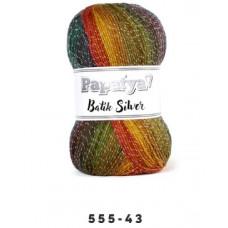 555-43 - Papatya Batik Silver - 100g
