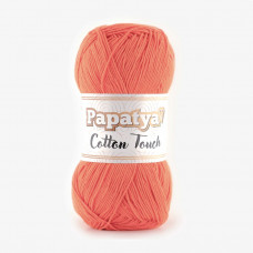 Farbe 0940 coralle - Papatya Cotton Touch - 100g